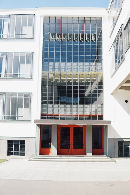 Bauhaus, North wing with school rooms