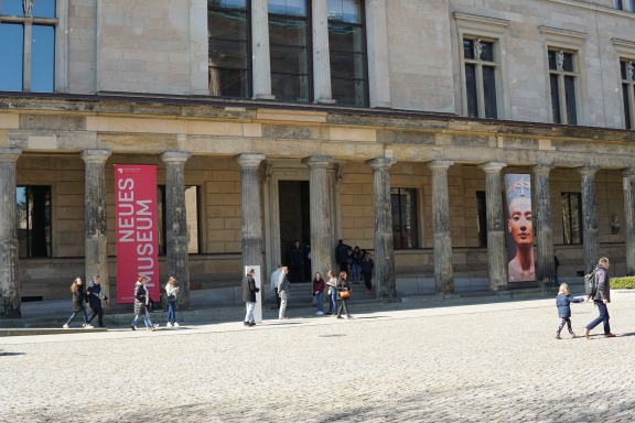 Neues Museum entrance