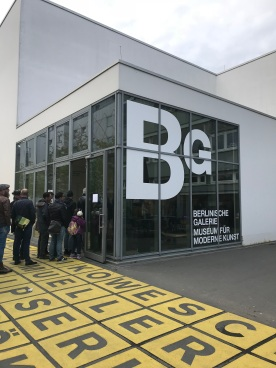 Berlinische Galerie - entrance